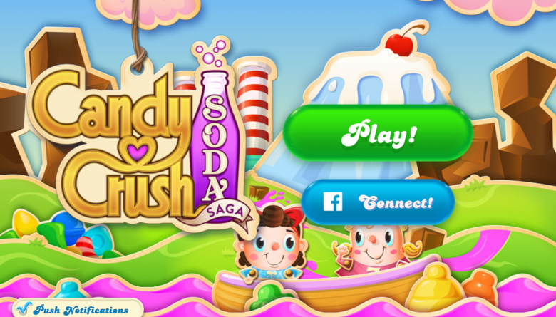 Candy Crush Home Screen