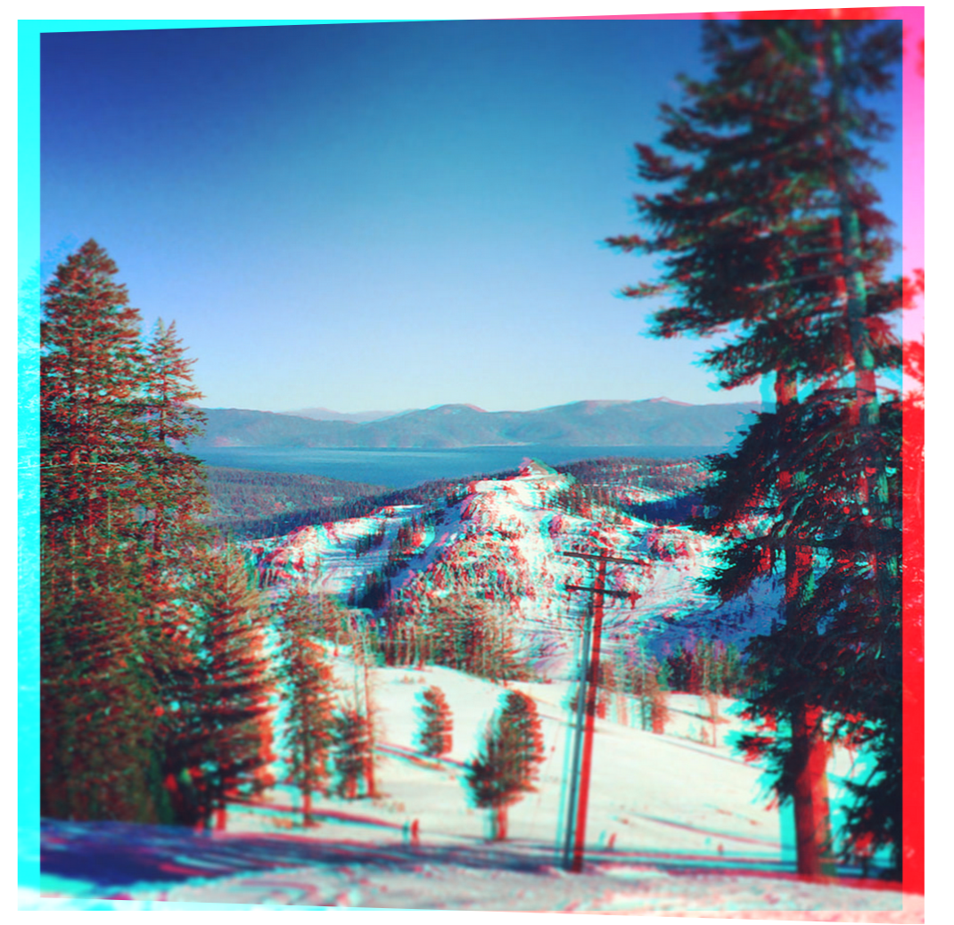 3D Effect on Tahoe Image